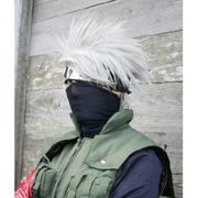 Naruto★ナルト カカシ  風 高品質コスプレウィッグ +ウイッグネット