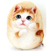 【HenryCats&Friends】ヘンリーキャット ネコ型クッション 中 newミーゴ インテリア 猫 ねこ 雑貨