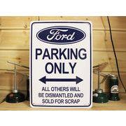 看板/プラスチックサインボード フォード専用駐車場 Ford Parking フォードパーキング CA-31
