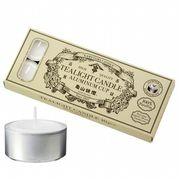 kameyama candle 亀山ティーライトアルミ10個・日本製 キャンドル キャンドル