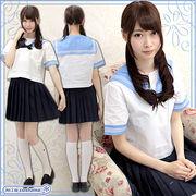 ■送料無料■フェリス女学院高等学校 夏服 サイズ:M/BIG