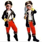 ハロウィン衣装 子供 パイレーツ マリン風 コスチューム 海賊 セット ハンサム パイレーツ
