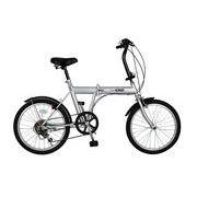 ACTIVE911(アクティブ911) ノーパンク20インチ折畳自転車 FDB20 6段ギア付き