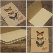 ★【Raffine  NOTE BOOK】アンティーク調★ラフィネ ノートブック Butterfly♪