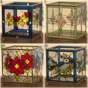 ★【Twinkle Glass】ヨーロッパ風★ステンドグラス★ティンクルグラス BOX♪