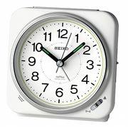 【新品取寄せ品】セイコークロック 電波目覚まし時計 KR326W
