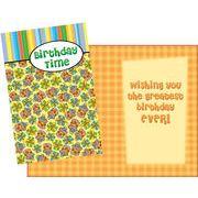 Stockwell Greetings グリーティングカード バースデー プレゼント×ケーキ