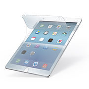 エレコム iPad Air 2用 ぱちぴた衝撃吸収フィルム(高光沢) TB-A14EFLPAG