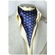 エレガント袋縫いメンズ用100%シルクスカーフ 1011