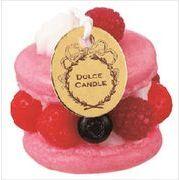 kameyama candle ドルチェキャンドル 「 ラズベリーマカロン 」 キャンドル