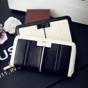 女性財布/本革/ファッション/財布/新しいデザイン/ロングスタイル/ジッパー/タッセルチ