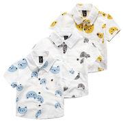 格安!!NEW★子供服★幼児★ワイシャツ★シャツ★猫★プリント