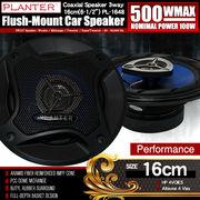 基本モデル カースピーカー PL-1648 3WAY 16cmタイプ MAX500W 自動車 カーオーディオ スピーカー