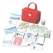 【 救急バッグセット21点 を 20セット 】 小型バッグで携帯できる、本格的な救急セット
