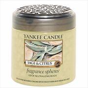 YANKEE CANDLE フレグランスビーズ 「 セージ&シトラス 」