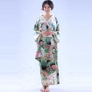 横スタイル/コットン/和服/女性和服/ナイトガウン/浴衣