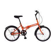 FIELD CHAMP(フィールドチャンプ) 20インチ折畳自転車FDB20 オレンジ