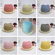 同梱でお買得★夏季新作 ■親子帽子 ■子供用★帽子★ストライプ★可愛いなデザイン 多色