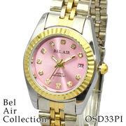 【レディース仕様】★ラグジュアリー ストーンインデックス レディース腕時計 OSD33【保証書付】