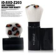 携帯スライド式メイクブラシ、フェイスブラシ、パウダーブラシ、チークブラシ SXD-Z203