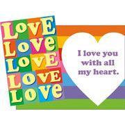 Stockwell Greetings グリーティングカード LOVE×ハート