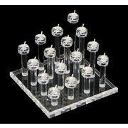 【指輪・リングディスプレイ 立体型】展示用、店舗用販促、自宅用にもにおすすめ