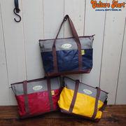 【便利な2WAYトートバッグ★☆コットン×PVCを使用♪収納力抜群なバッグ】TOTE BAG