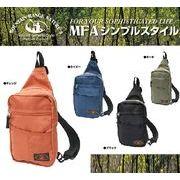 【人気】MountainRange ボディバッグ ベーシックデザイン