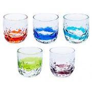 【大人気の琉球ガラス】暑い夏にぴったり!でこ線巻グラス