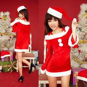 【即日出荷】長袖 サンタ衣装 クリスマス/コスプレ【9454/2】