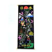和柄タペストリー45cm&80cm(日本地図)