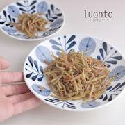 luonto-ルオント- 18cm中プレート[美濃焼]