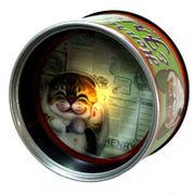 【HenryCats&Friends】缶ナイトライト ベラ ねこ 猫 ライト 照明 インテリア プレゼント ギフト