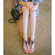 【初回送料無料】夜店セクシーサンダル☆ブラック/ゴールド2色◆too-c557-12-205