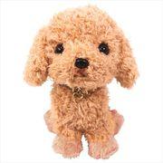 【ギフトにオススメ】PUPS! ぬいぐるみS/トイプードル/ベージュ 犬