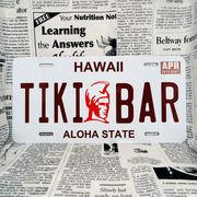 好きな文字にできるアメリカナンバープレート(大・US車用サイズ)ハワイ・カメハメハ大王