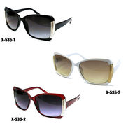 【新製品】セルフレームサングラス(UVカット)X-535