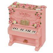 【 アップライトピアノ型ミニオルゴール (ピンク) 】 ♪ありがとう