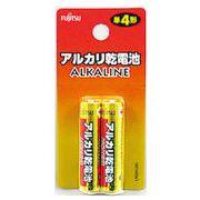 富士通 アルカリ電池・単4・2P・Fu-12