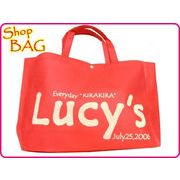 【Lucy'soriginal】ルーシーズオリジナル 不織布 ショップバッグ