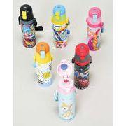 水筒 直飲み キッズキャラクター 軽量直飲みステンレスボトル アソート7個セット