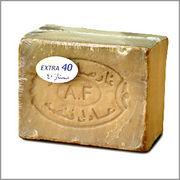 アレッポの石鹸 エキストラ40(EXTRA40) 約180g 無添加オリーブ石鹸│アレッポ石鹸