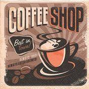 Paper+Design ペーパーナプキン コーヒーショップ