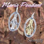 マリアペンダント-1 / 4010-4011--1826 ◆ Silver925 シルバー ペンダント マリア