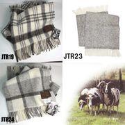◆英アソート対象商品◆【英国製最高級羊毛】ジェイコブ・ウール ひざ掛け