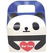 ツイン 『プレゼントなどのラッピングに』 文具シリーズギフトBOX大 ForYouパンダ ブルー GE0591 2B