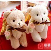 BLHW138399◆即納あり◆結婚式ギフトに最適◆ウエディングベア袋付◆多色展開◆包装