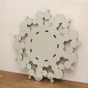 【デコラティブミラー】 壁掛け鏡 ウォールミラー (直送可能)
