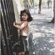 子供服 夏 セットアップ Tシャツ+ワイドパンツ 女の子 2点セット キッズセット