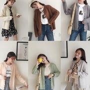 初回送料無料 2017 カジュアル セーター ニット ジャケット 大人気 全6色 Gjxyh-1709bac09 新作